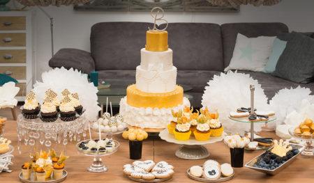 Hochzeit: Golden Glamour